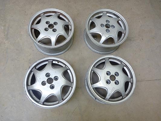 """4 x Lotus 15"""" Oz Ruote Wheels"""