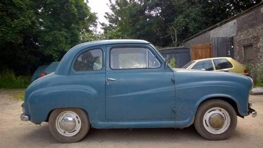 Austin Seven Blue