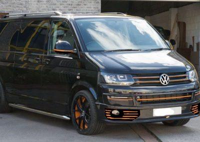 Custom T5 Tourer – Black & Orange
