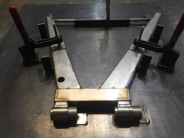Lotus Elan Stainless Steel Wishbones - Manufacture 3