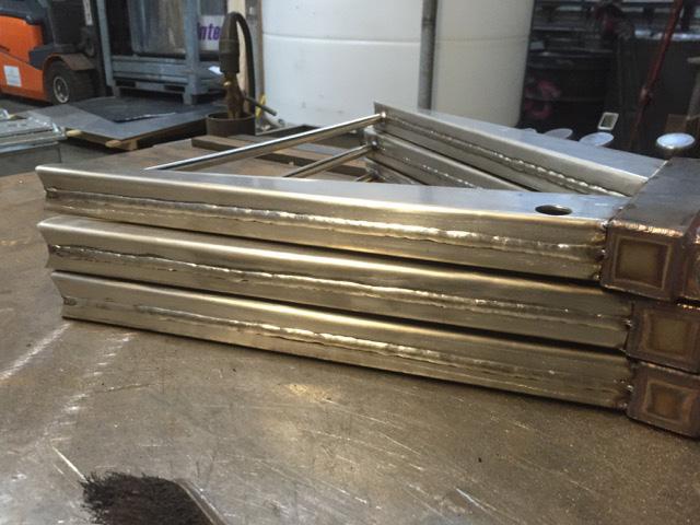 Lotus Elan Stainless Steel Wishbones - Manufacture 6