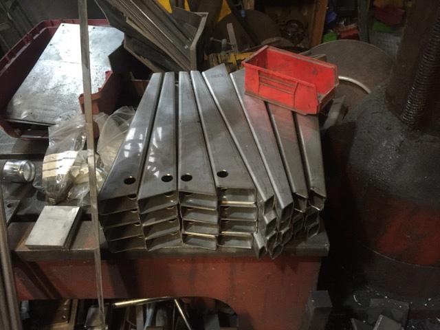 Lotus Elan Stainless Steel Wishbones - Manufacture 5
